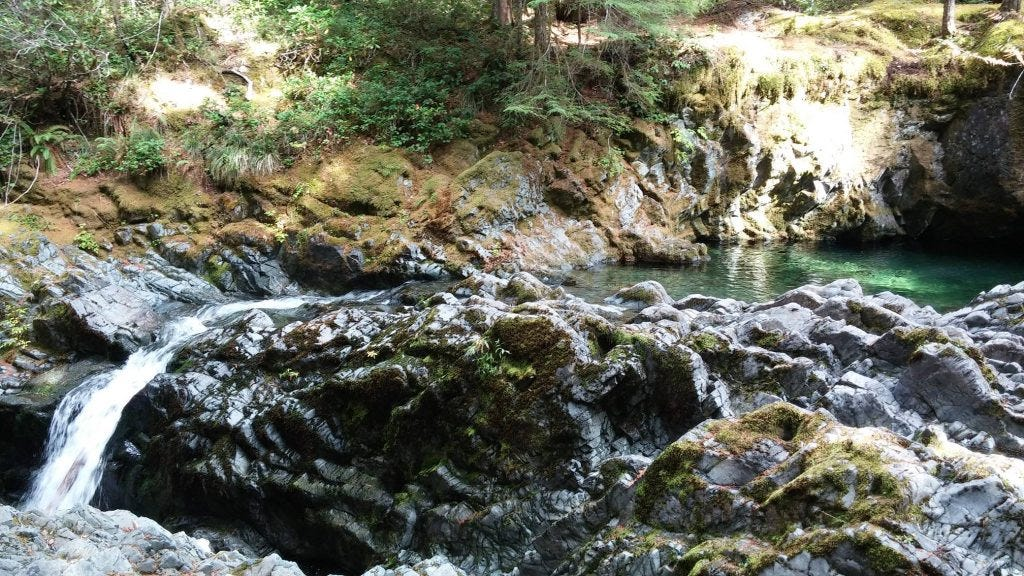Opal creek, the Opal pool, Willamette National Forest
